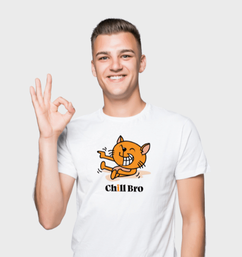 Chill Bro T-Shirts For Men