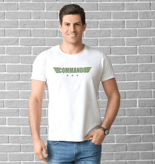 Commando Army T-Shirts For Men