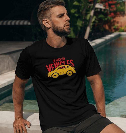 Search-For-Vehicles-PUBG-T-Shirts-For-Men-black
